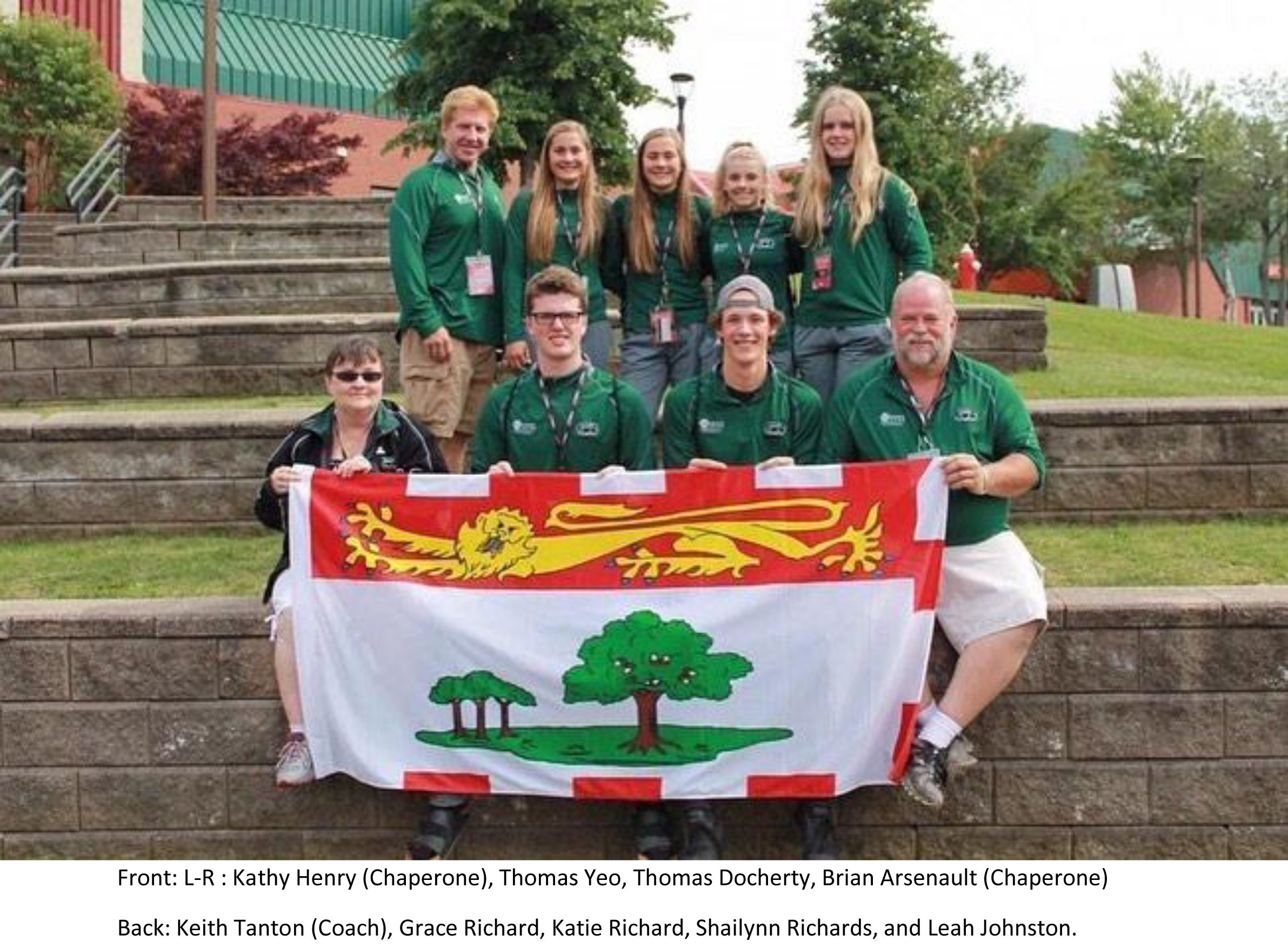 PEI Athletes Compete at Legion National Championships